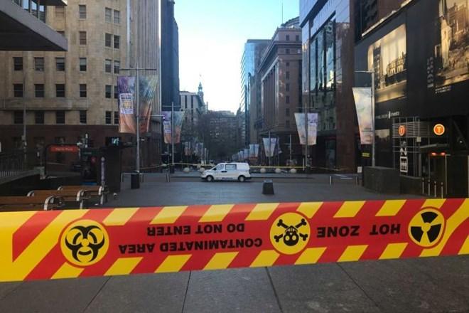 Rò rỉ khí đốt khiến trung tâm thành phố Sydney phải đóng cửa