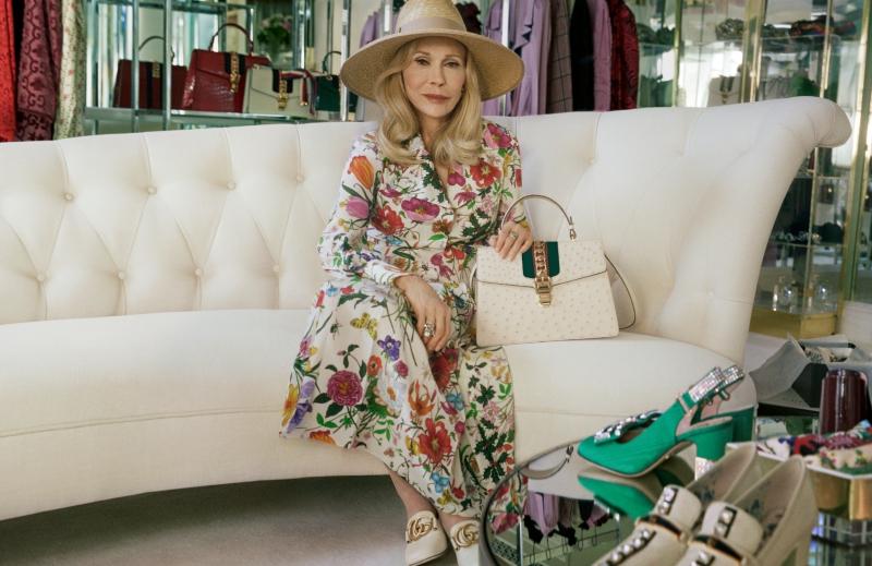 Nữ diễn viên gạo cội của điện ảnh Hollywood Faye Dunaway là nhân vật chính trong chiến dịch quảng cáo mới nhất của Gucci.
