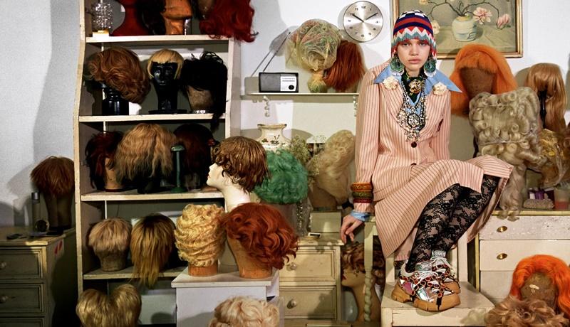 """Chiến dịch quảng cáo Thu Đông 2018 của Gucci mang chủ đề """"Gucci Collector""""."""