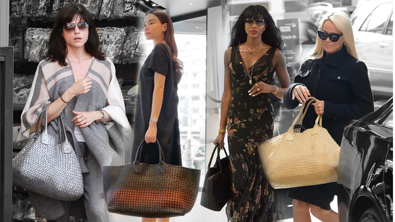 """Bottega Veneta: Nhà mốt bán """"làn đi chợ"""" với giá cả trăm triệu đồng!"""