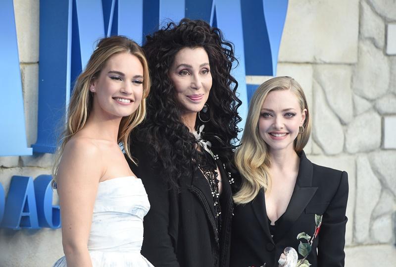 Lily James, Cher và Amanda Seyfried