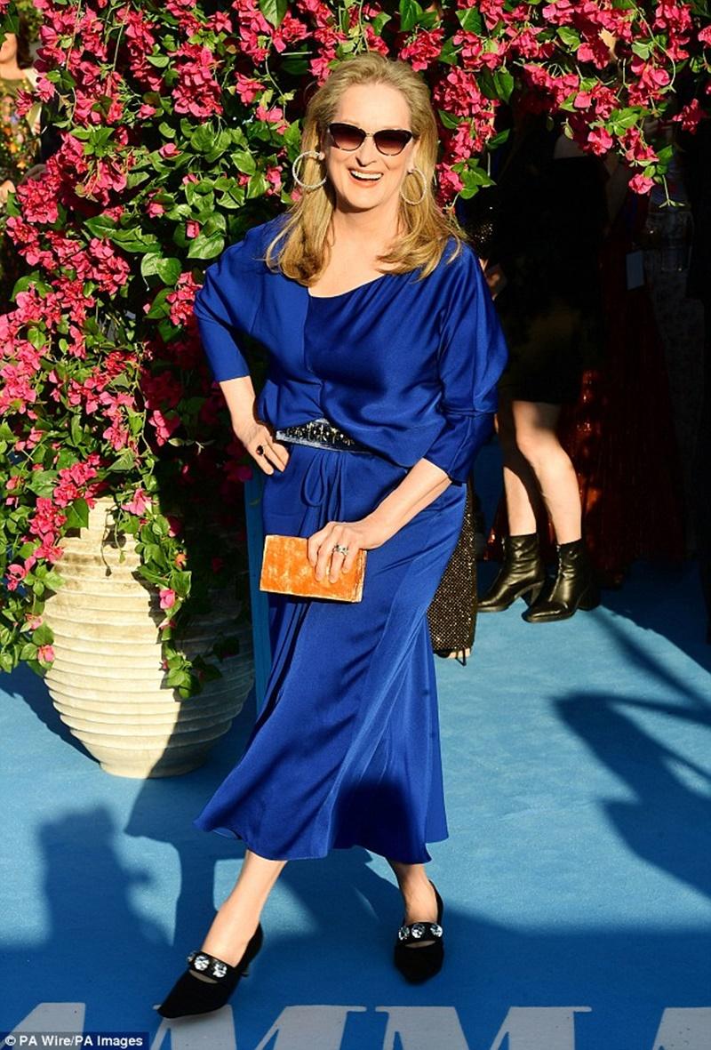 Nữ diễn viên 21 lần được đề cử giải Oscar là tượng đài mà bất kỳ diễn viên trẻ nào cũng ngưỡng mộ.