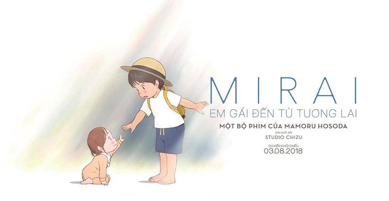 """""""Mirai: Em gái đến từ tương lai"""" – thước phim giàu cảm xúc và đầy ý nghĩa về gia đình không thể bỏ lỡ!"""