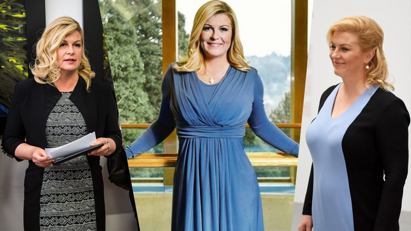 Học hỏi nữ Tổng thống Croatia diện đồ cực khéo hết chỗ chê!