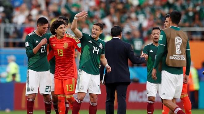 """Đội tuyển Mexico liệu có gạt bỏ được """"lời nguyền"""" tại vòng 16 đội"""