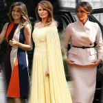 """Điểm mặt loạt đồ hiệu """"đắt xắt ra miếng"""" của Melania Trump trong chuyến công du tại Anh quốc"""