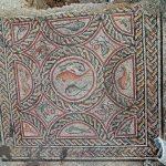 Phát lộ bức tranh khảm có niên đại 1.700 năm tuổi ở Israel