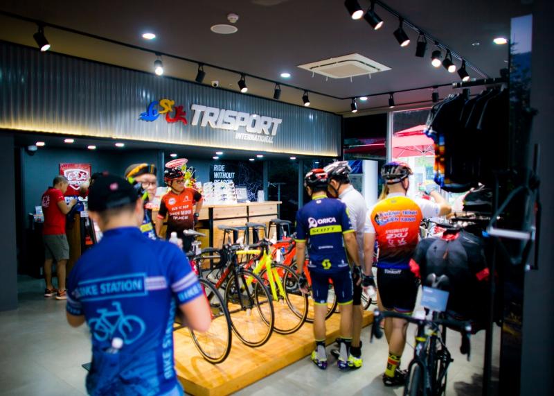 Ra mắt showroom Trisport International dành cho tín đồ của bộ môn thể thao sức bền