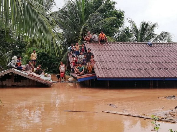 Người dân vẫn chưa hết bàng hoàng sau sự số vỡ đập thủy điện ở Lào