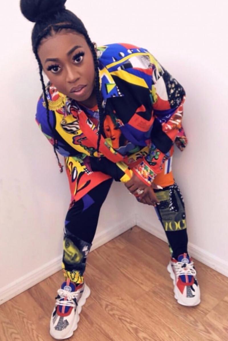 Thiết kế sneakers này còn cực kỳ phù hợp với phong cách của rapper đình đám Missy Elliott.