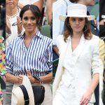 Phong cách đi xem tennis đẳng cấp của các khách mời Wimbledon 2018
