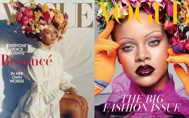 """Các ngôi sao da màu đồng loạt trở thành """"nữ hoàng ảnh bìa"""" tháng 9"""