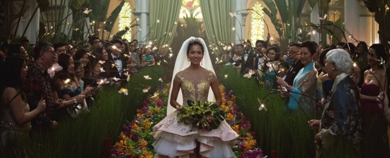 Bộ váy cưới do tự tay Mary Vogt thiết kế cho bộ phim này.