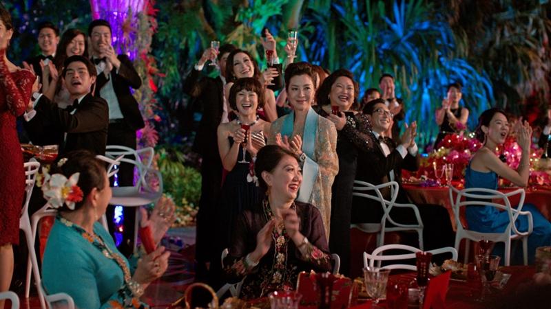 Những mảng màu sắc rực rỡ của giới siêu giàu châu Á.