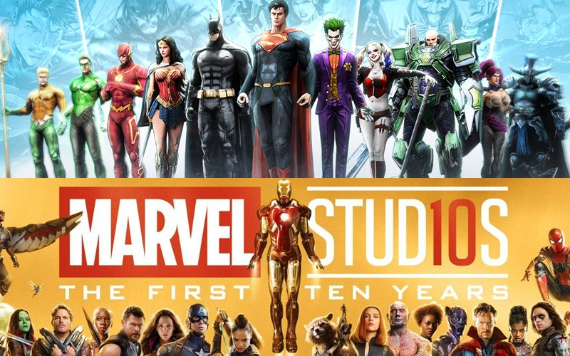 """DC và Marvel hai """"ông trùm"""" điện ảnh về các Siêu Anh Hùng"""
