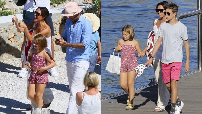 Con gái Beckham tóc ngắn, sún răng vẫn đáng yêu hết cỡ