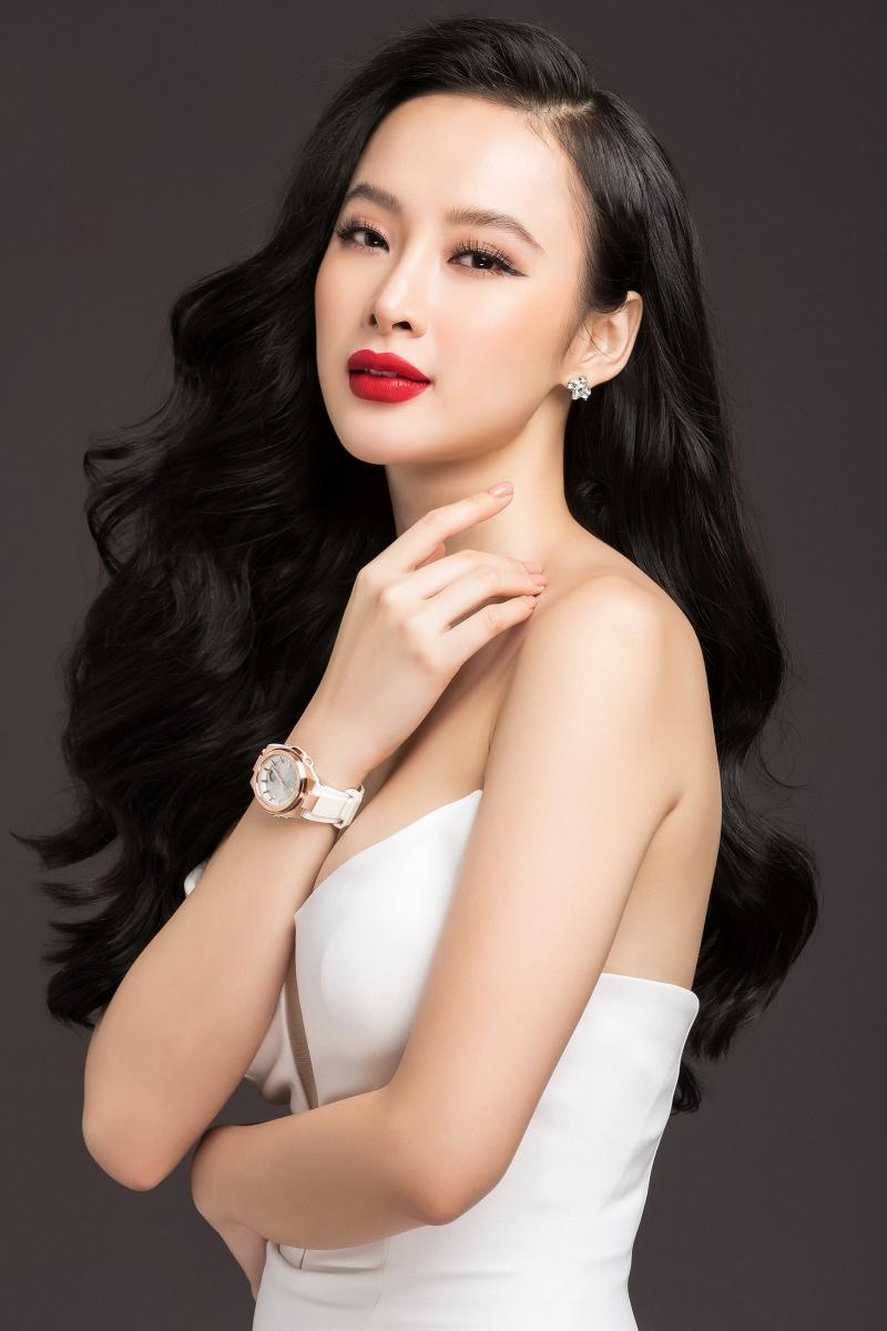 Angela Phương Trinh trở thành đại sứ mới của đồng hồ Baby-G tại Việt Nam.
