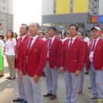 Đoàn Việt Nam dự ASIAD 18 chính thức được chào đón tại Indonesia