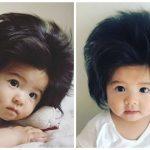 """Chanco – em bé 7 tháng tuổi sở hữu """"báu vật"""" khiến hội tóc mỏng """"phát hờn"""""""