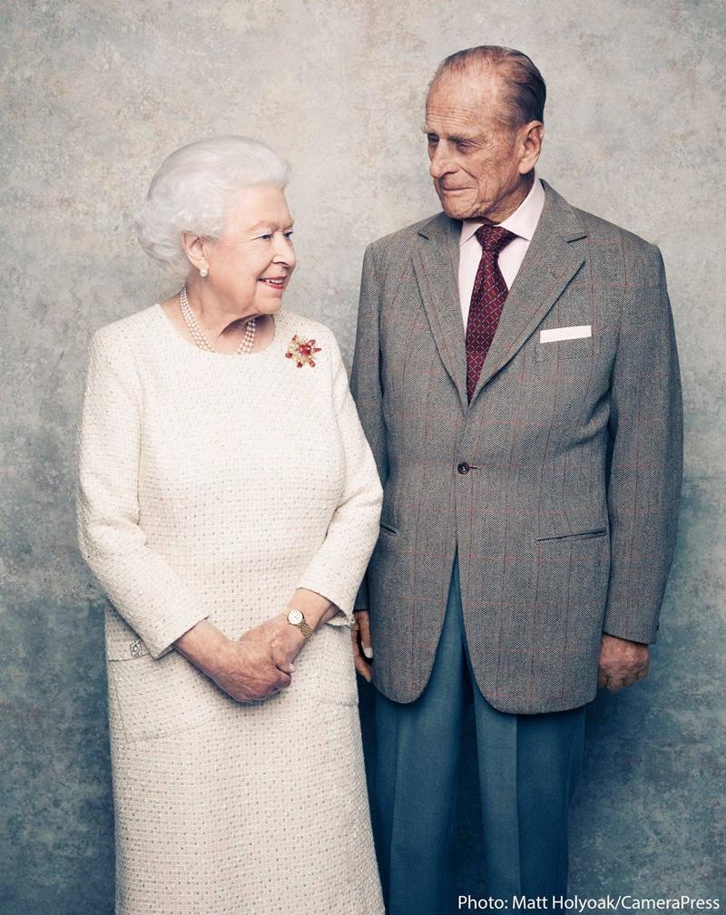 Hoàng tế Phillip lại rất thích gọi vợ mình là Lilibet
