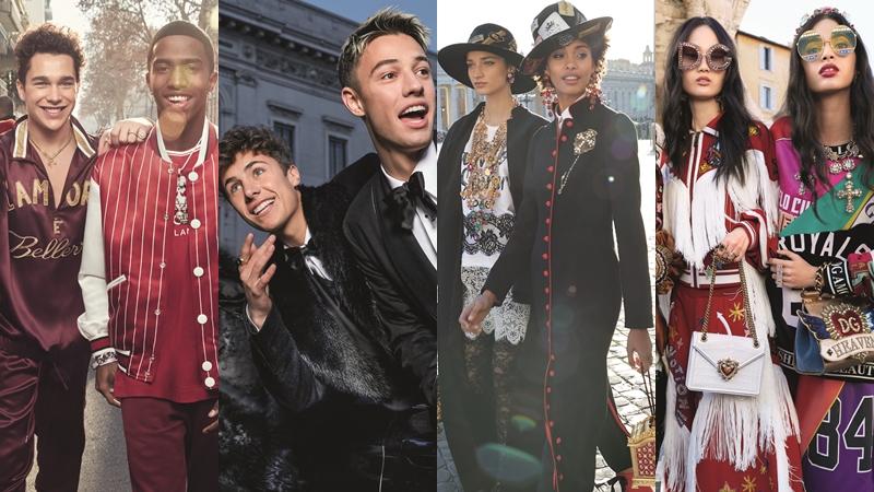 """Chọn dàn mẫu toàn """"trai xinh, gái đẹp"""", Dolce & Gabbana lấy lòng Millennials với chiến dịch quảng cáo mới"""
