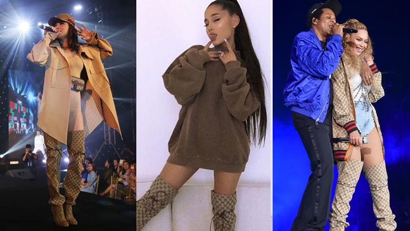 """Khi các """"nữ hoàng giải trí"""" cùng diện đôi boots Gucci giá hơn 41 triệu đồng"""