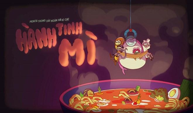 """Công chiếu loạt phim hoạt hình Việt """"Monta trong dải ngân hà kỳ cục"""""""