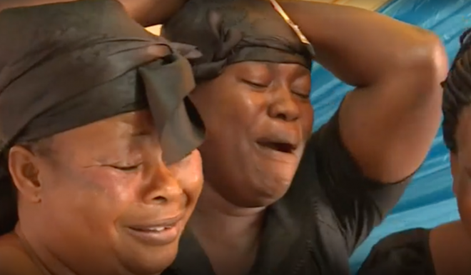 Dịch vụ khóc mướn tại đám tang lên ngôi ở đất nước Ghana