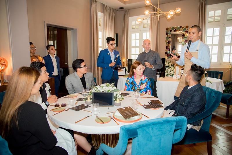 Hai đầu bếp Jacques Pourcel và André Chiang chia sẻ về ẩm thực Pháp và menu đặc biệt cho buổi tiệc.