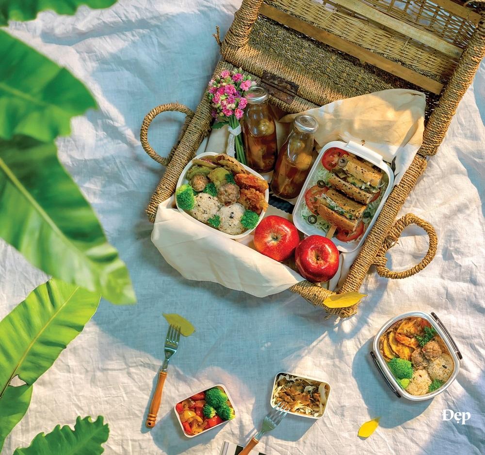 Món ăn ngon nêm đẫm yêu thương cho chuyến picnic cuối tuần