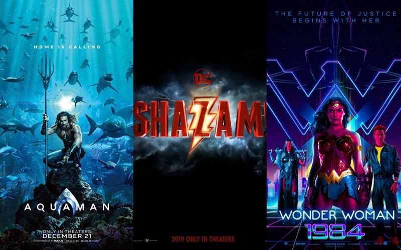"""""""Aquaman"""", """"Shazam!"""" và """"Wonder Woman 1984"""" hứa hẹn sẽ là một màn """"lột xác"""" hoàn toàn mới của điện ảnh DC"""