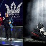 Đấu giá giày đính kim cương lấy cảm hứng từ ông hoàng nhạc pop Michael Jackson