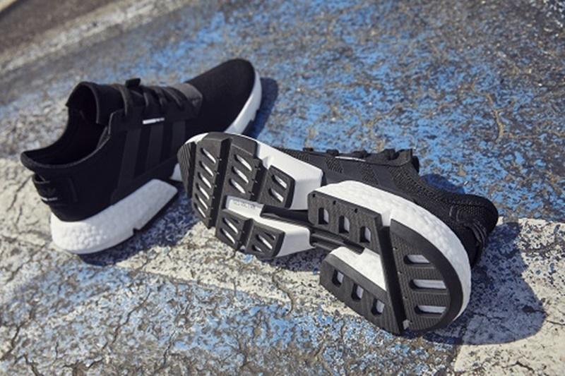 """Và đôi giày adidas P.O.D System chính là """"sợi chỉ"""" xuyên suốt các bức hình trên. Đây là thiết kế giày sneakers mới nhất của adidas, được kết hợp 3 công nghệ trong thiết kế và sản xuất giày nổi bật của adidas."""