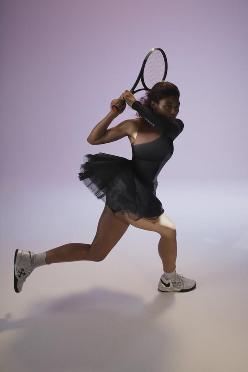 Trang phục trong BST đặc biệt này được lấy cảm hứng từ tình yêu dành cho ballet của Serena Williams.