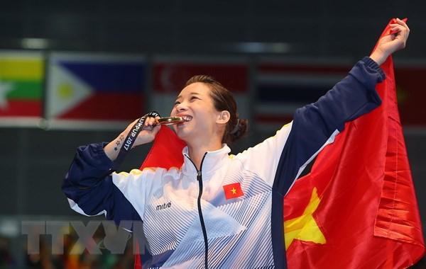 """Võ thuật vẫn là """"mỏ Vàng"""" của Thể thao Việt Nam tại ASIAD 201"""