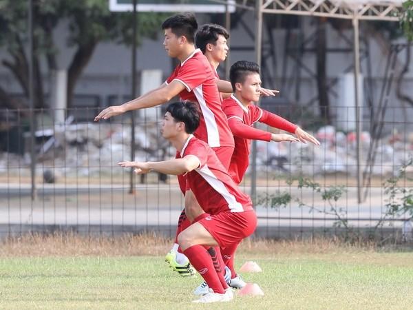 ASIAD 2018: Olympic Việt Nam về nơi trú quân mới chuẩn bị cho vòng 1/8