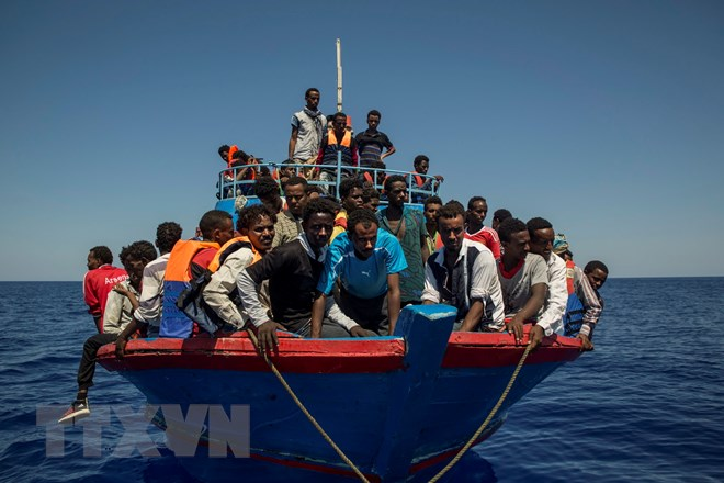 Hơn 1.500 người di cư thiệt mạng ở Địa Trung Hải trong 7 tháng