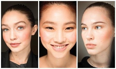 Mốt makeup má ửng hồng chính thức lên ngôi