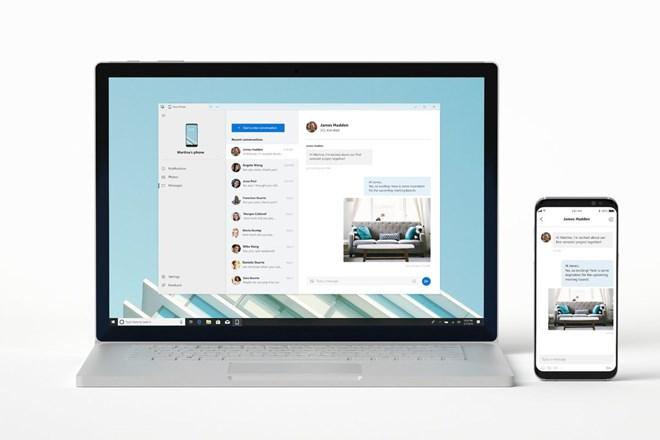 Microsoft ra ứng dụng hiển thị nội dung điện thoại trên máy tính
