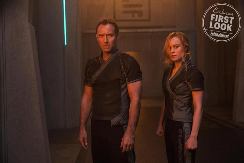 Jude Law sẽ đóng vai trò là người đồng hành với Captain Marvel.