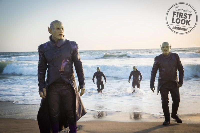 Bộ phim cũng sẽ giới thiệu những nhân vật phản diện độc ác và xấu xa bậc nhất của vũ trụ điện ảnh Marvel: đội quân Skrulls; trong đó, nhân vật Talos của Ben Mendelsohn đóng vai trò là người cầm đầu.