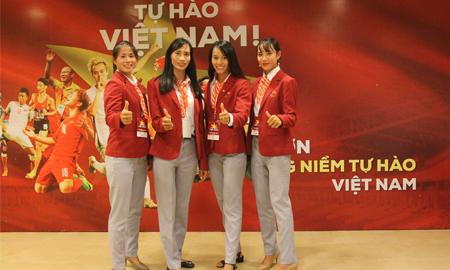 """4 cô gái vàng Rowing – điểm nhấn xúc động trong lễ vinh danh """"Tự hào Việt Nam!"""""""