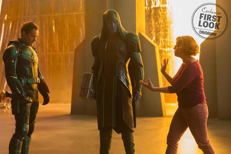 """Trên thực tế, khán giả của Marvel đã từng gặp gỡ hành tinh Kree trong bộ phim """"Guardian of the Galaxy"""" với hai gương mặt quen thuộc là Korath (Hounsou) và Ronan the Accuser (Lee Pace). Từ bại tướng của """"Guardian of the Galaxy"""", Ronan the Accuser sẽ trở thành người nắm giữ vị thế cao trong xã hội Kree."""