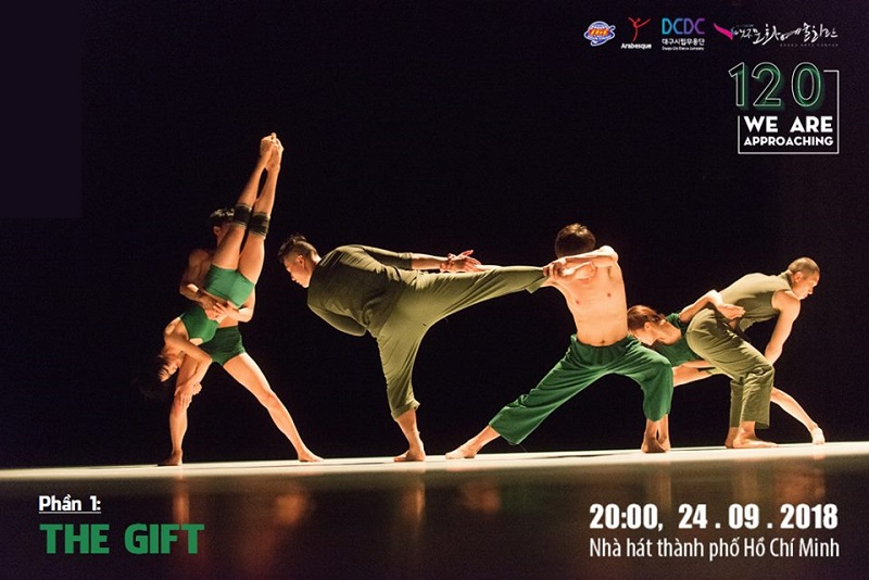 """""""120 We are approaching"""": Đêm diễn múa đương đại duy nhất tại Nhà hát Tp.HCM"""
