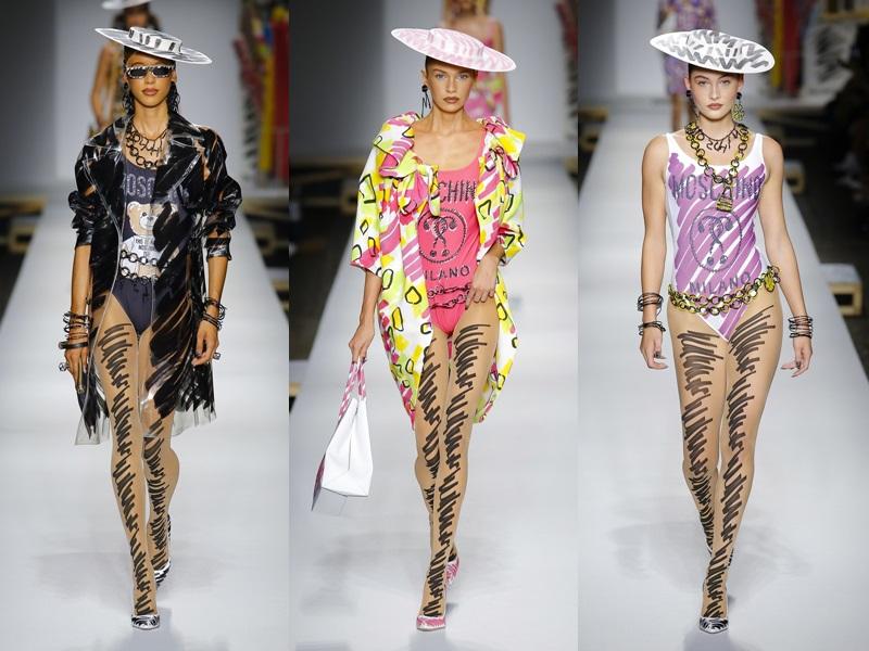 Ngoài những phom dáng thanh lịch, quý phái như váy mini-juyp, đầm liền, áo blazer,... còn có những mẫu jumpsuit gợi cảm có tông màu nổi bật.