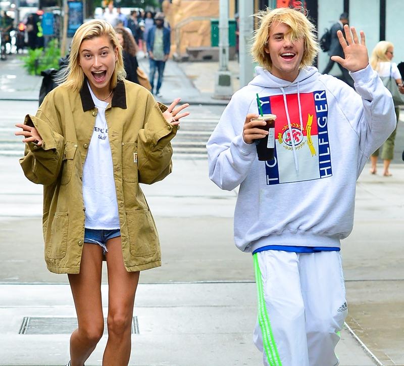 Hình ảnh của Justin trong những ngày gần đây luôn được bắt gặp trông bộ dạng nhếch nhác khi sánh đôi cùng Hailey Baldwin.