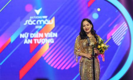 Lan Phương vượt qua Nhã Phương, giành giải Diễn viên nữ ấn tượng