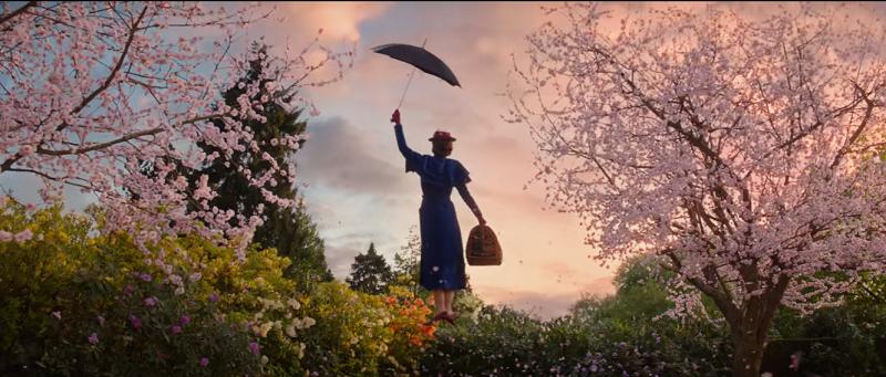 Hình ảnh một cô bảo mẫu cầm chiếc dù chao lượn trên những tầng mây rồi khoan thai đáp xuống mặt đất... đã trở thành ấn tượng khó phai trong lòng khán giả.