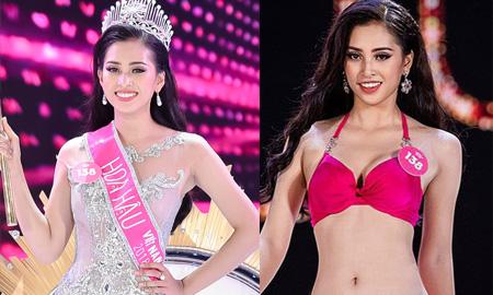 Hoa hậu Trần Tiểu Vy được truyền thông quốc tế hết lời khen ngợi về nhan sắc