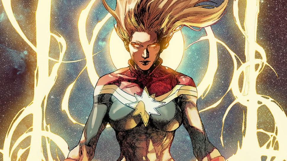 Captain Marvel tên thật là Carol Susan Jane Danvers, xuất hiện lần đầu trong truyện tranh Marvel Super -Heroes với tư cách là một phi công thuộc biên chế không lực Hoa Kỳ.